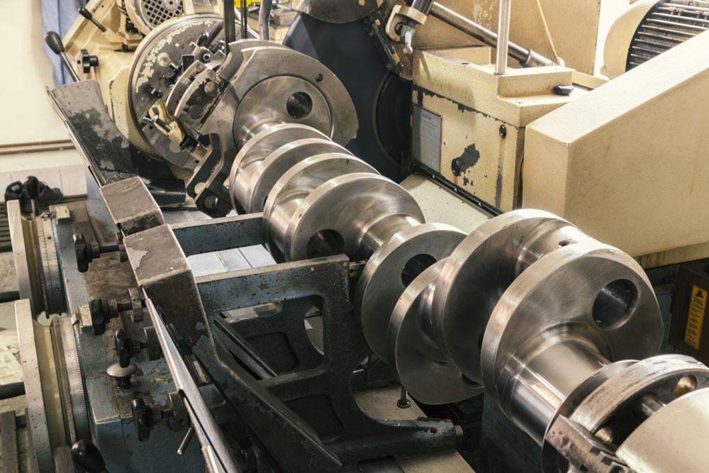 Engine Crankshaft Grinding