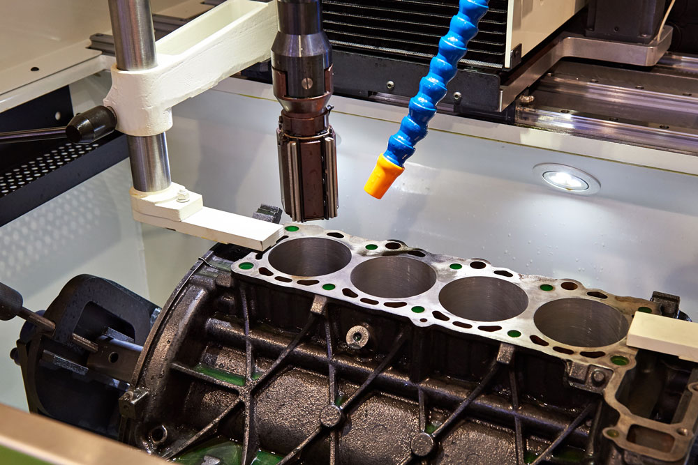 Engine Cylinder Boring